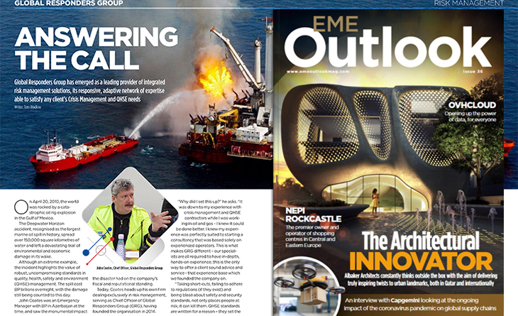 GRG in Outlook Magazine May 20