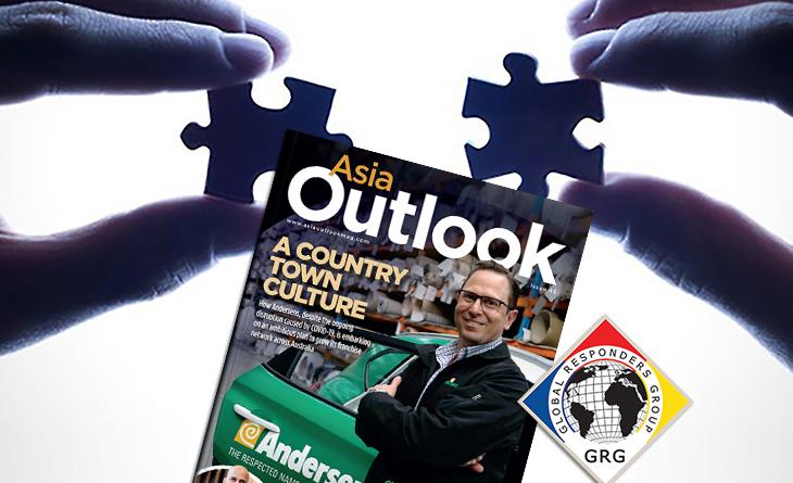 GRG in Outlook Magazine August 20